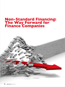Non-standard financing: The way forward for finance companies