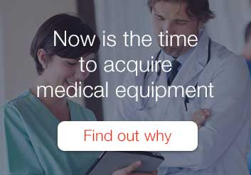 Aquire medical equipment with Key Equipment Finance